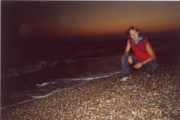 Черное море, база отдыха Голубая Волна, Саки