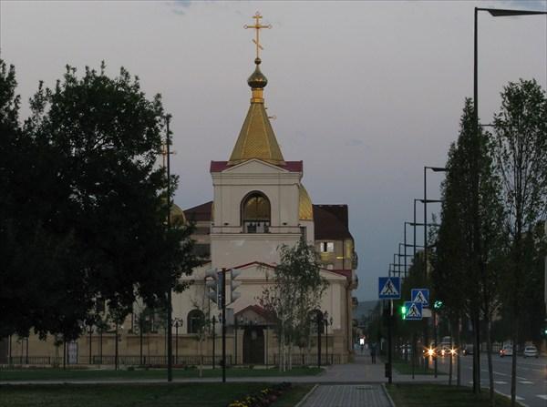 Православная церковь в Грозном