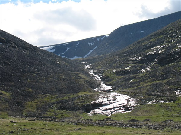 Водопад после пер. Умбозерский