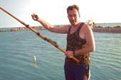 Рыбалка в черте города(ловится и рыба побольше)