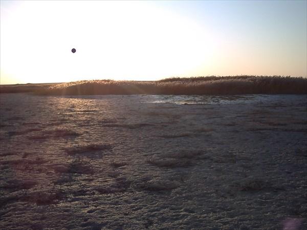 Плёс на озере
