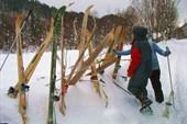 Разбираем лыжи