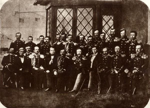 Офицеры_Паллады_1852