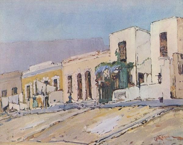 Кейптаун в середине XIX века