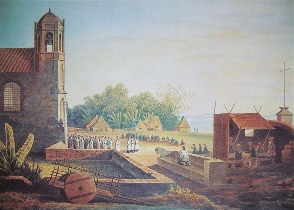 Manila-View_of_Malate_Church_in_1831