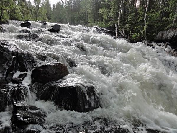 Р.Кукса, водопад
