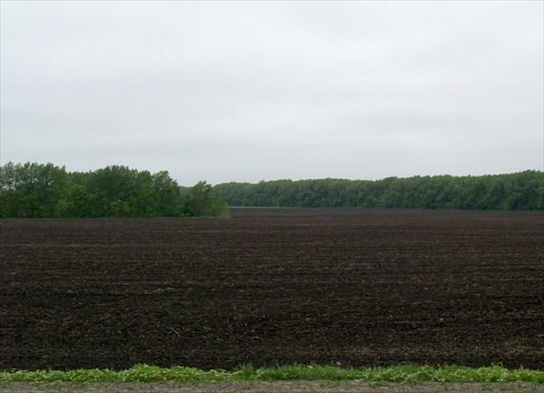Возделанные поля