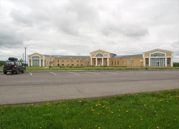 Административное здание музея-заповедника «Тарханы».