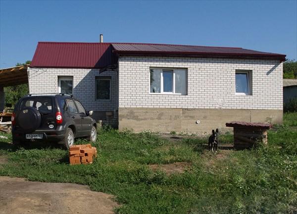 Домик сестры в селе под Воронежем