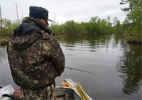 Рыбалка в реке Нале