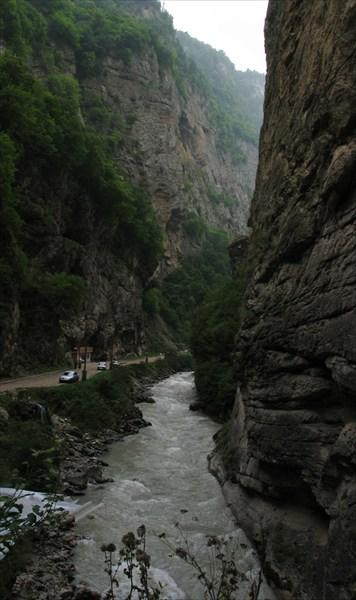Ущелье реки Чегем