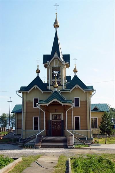Церковь в Слюдянке