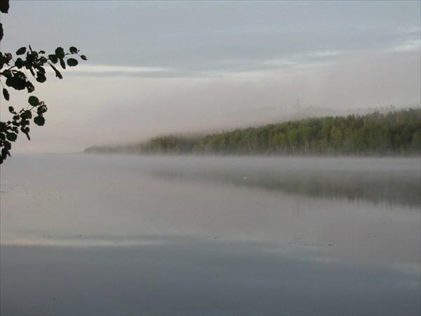 Туман на Пертозере