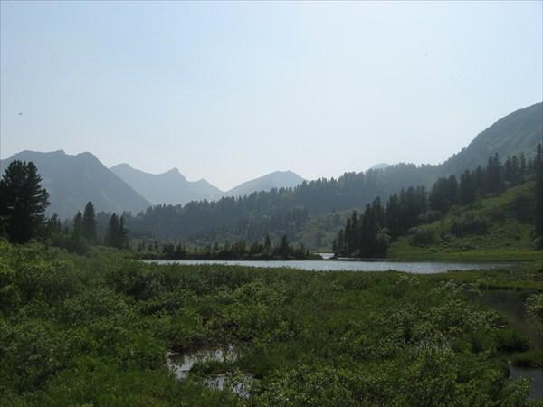 Озеро 1430 м. над уровнем моря.