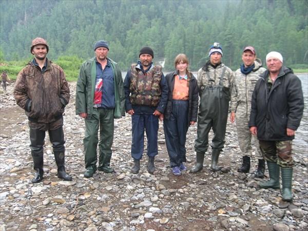 """Участники """"Путешествия на Кинзелюкский водопад""""-2012"""