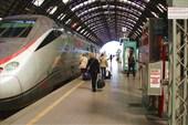 На вокзале в Милане