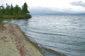 Пляж на сейдозере