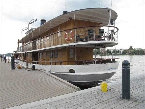 Савонлинна. Музейный пароход