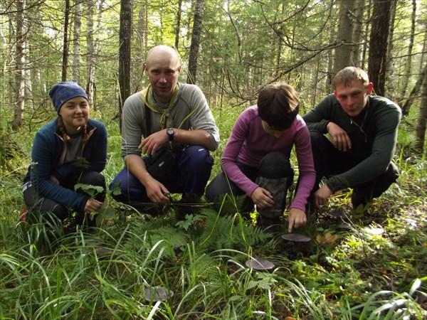 В Зигальгинских лесах