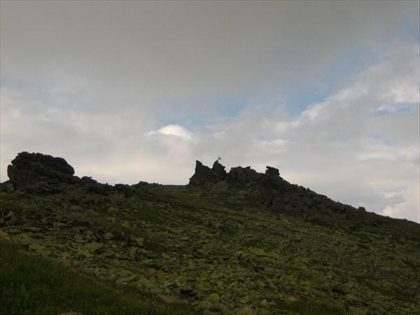 На вершине Отортэна.
