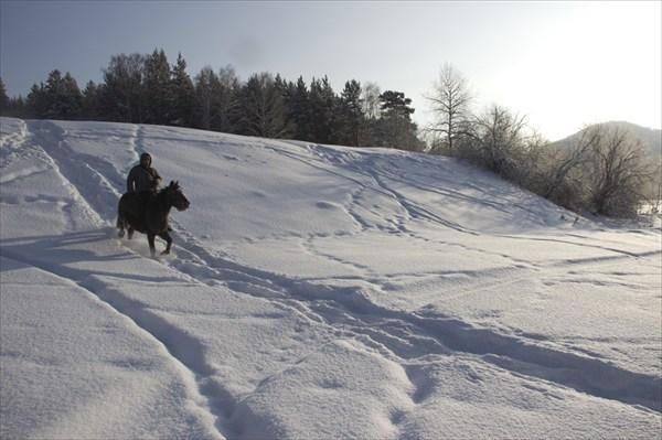 Конный поход в Белорецком районе Башкирии