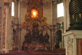 Собор св. Петра. Папский престол