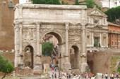 Рим. Форум Романум. Арка Сентимия Севера