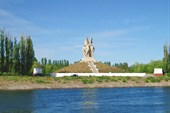 Памятник соединению войск Сталинград. и Южн. фронт.(г.Пятиморск)