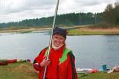 Нина с веслом