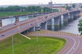 9 Мост через реку Томь