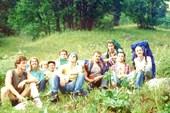 команда похода 1994 года.