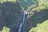Водопад на притоке р. Эхе-Гер