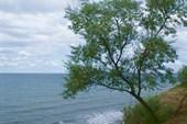 Вид с высокого берега. Город Анапа.