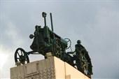 Памятник женщинам-труженицам тыла на трассе Москва-Рязань