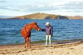 Байкал и лошади