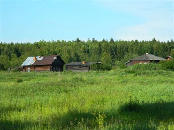 Брошенная деревня Б.Кеть
