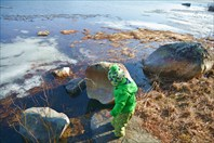 Умывание студеной водичкой