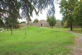 Парк перед крепостью