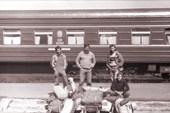 1985. Москва-Онега. П.Каменченко,А.Баландин,С.Комков, Дж.Новиков