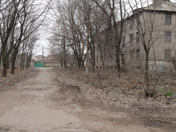 Типичный вид городской улицы