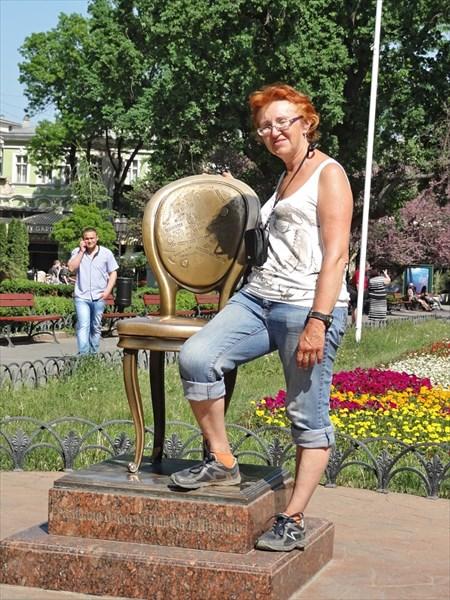 Горсад, знаменитый 13-й стульчик