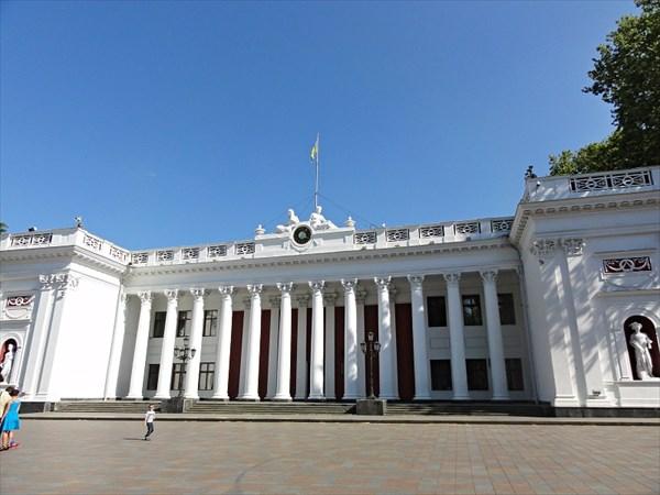 Думская пл., мэрия Одессы
