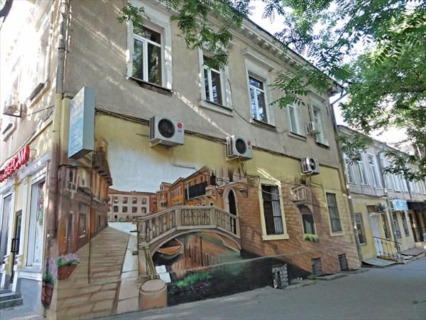 Шикарное граффити