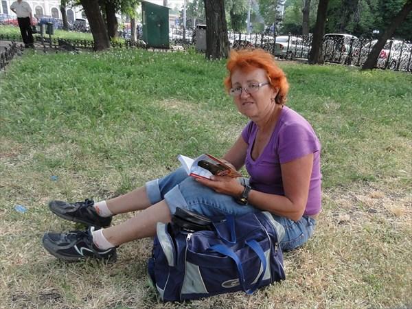 У вокзала в Одессе