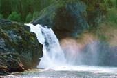 Урикский водопад. фото чужое...