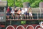 Мелитопольский памятник паровозу