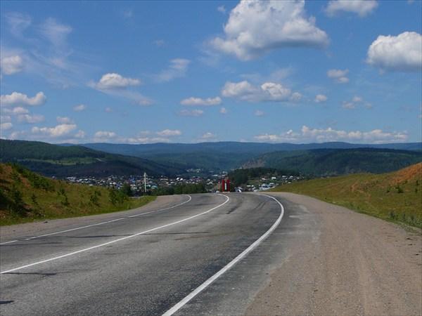 Въезд в Инзер