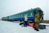 Поезд Печера - Инта