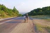 Прекрасный спуск к Бахчисараю
