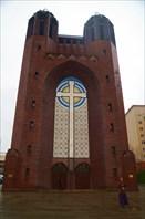 Кирха Креста. Крестовоздвиженская православная церковь ныне.